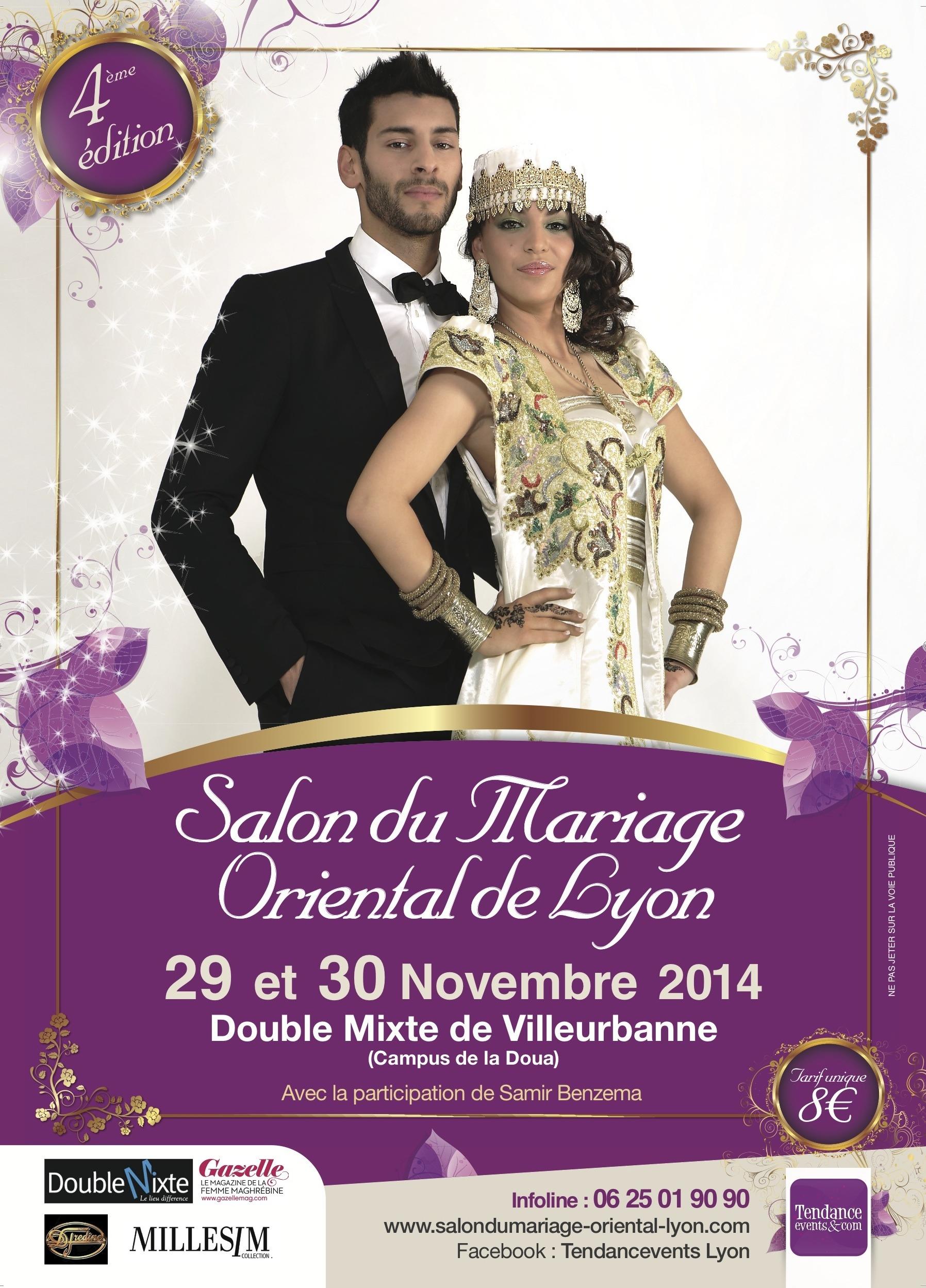 4e dition grand salon du mariage oriental de lyon by tendancevents agenda - Salon du mariage oriental 2015 paris ...