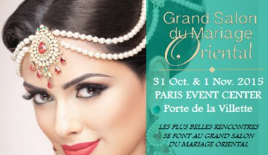 Grand salon du mariage oriental 2015 agenda saphirnews for Salon porte de la villette