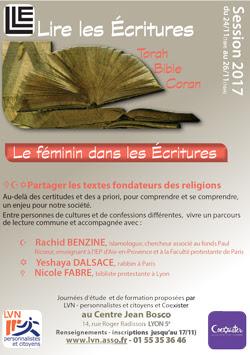 http://www.saphirnews.com/agenda/Lire-les-Ecritures-le-feminin-dans-les-Ecritures_ae532790.html