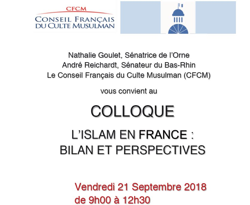 https://www.saphirnews.com/agenda/L-Islam-en-France-Bilan-et-Perspectives_ae606673.html