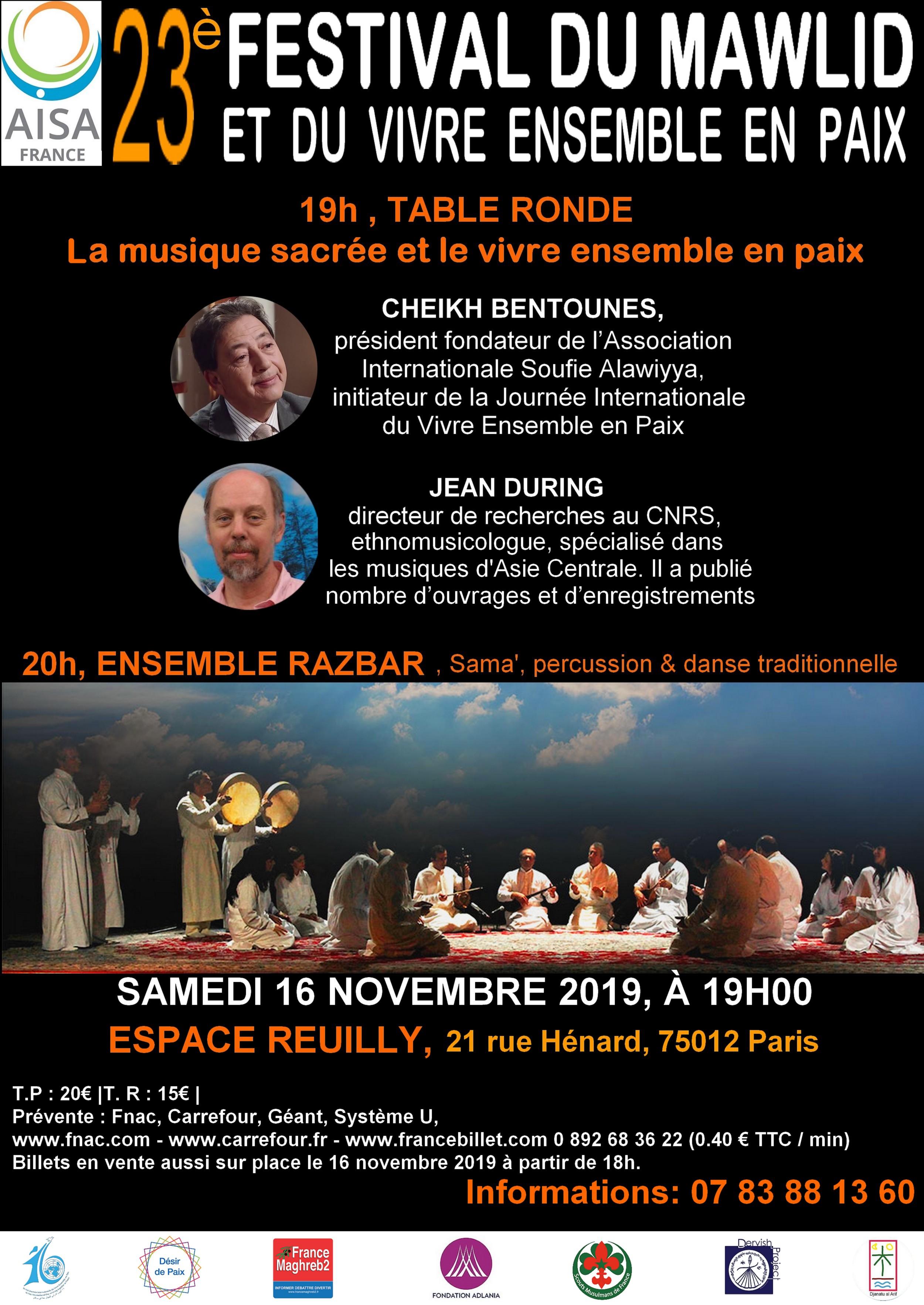 https://www.saphirnews.com/agenda/23e-Festival-du-Mawlid-et-du-vivre-ensemble-en-paix_ae681042.html
