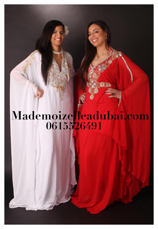 f62b62b6af7 MademoiZelle à Dubaï et sa collection de robe orientale de Dubaï et Abaya
