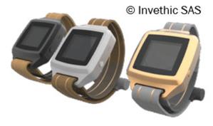 Le bracelet électronique d'Invethic SAS.