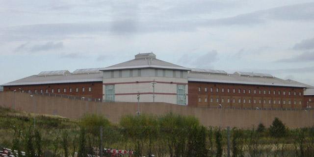 Prison de Saughton, près d'Edimbourg, en Ecosse.
