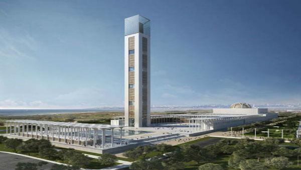 Grande Mosquée d'Alger : le gros œuvre bientôt achevé