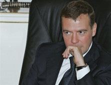 Dmitri Medvedev, le président russe