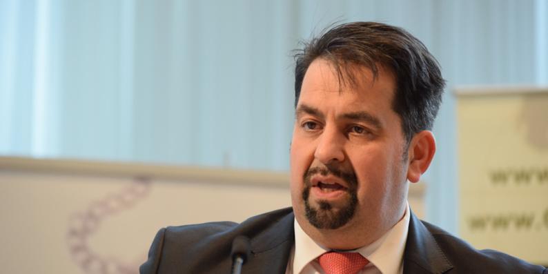 Aimen Mazyek, président du Conseil central des musulmans d'Allemagne (ZMD).