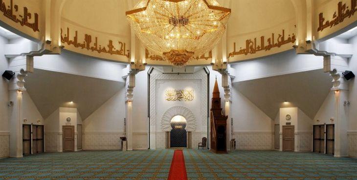 La Grande Mosquée de Lyon, ici à l'image, participe aux Journées du patrimoine, comme de nombreux lieux de culte à travers la France..