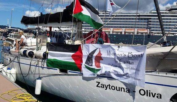 Depuis Barcelone, un navire 100 % femmes fait route vers Gaza