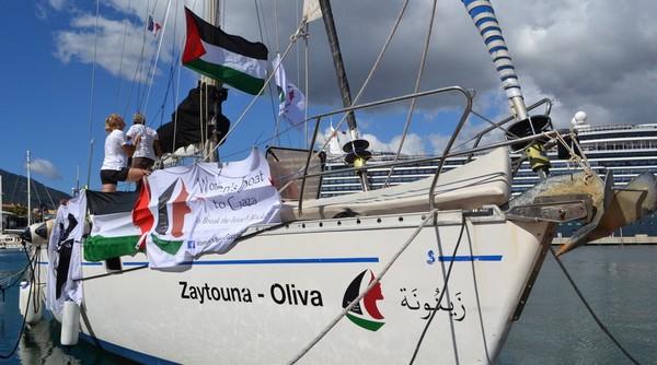 Le bateau des femmes pour Gaza intercepté par Israël