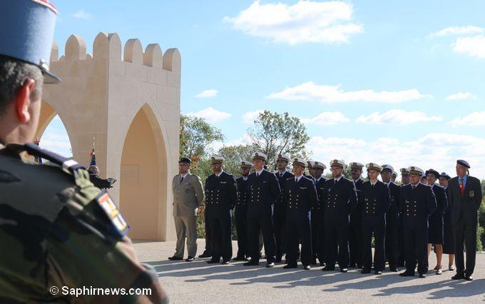 Une cérémonie marquant les dix de l'aumônerie musulmane des armées a été organisée le 6 octobre à Douaumont-Verdun. Ici au mémorial des soldats musulmans morts pour la France. © Saphirnews.com