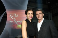 Farida Khelfa et Olivier Minne, les maîtres de cérémonie de La Nuit du Ramadan.