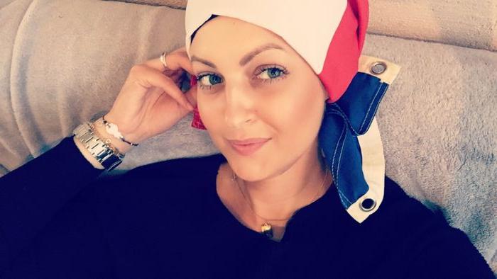 Charlène Caty, fondatrice de l'association « J'ai juste un cancer ».