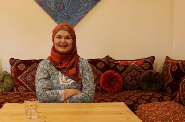 Nora Belahcen Fitzgerald, fondatrice de l'association Amal pour les arts culinaires. © Sarah Zouak/Lallab