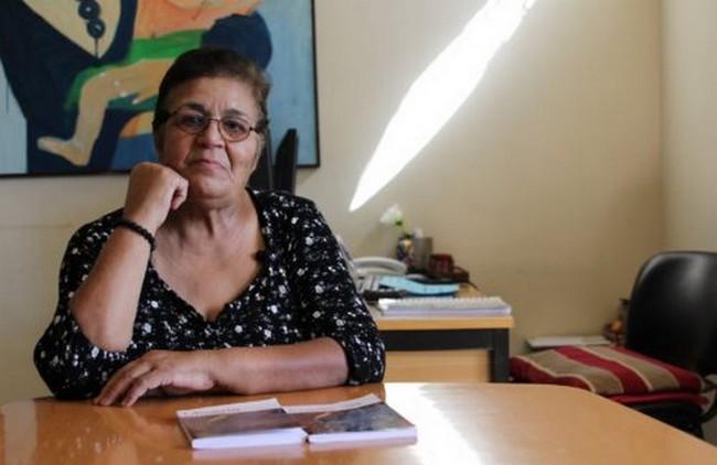 Aïcha Ech-Chenna est présidente et fondatrice de l'association Solidarité Féminine qui vient en aide aux mères célibataires au Maroc. © Sarah Zouak/Lallab