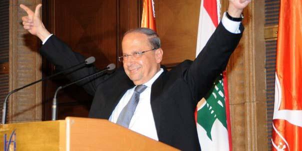 Michel Aoun, le nouveau président de la République libanaise.