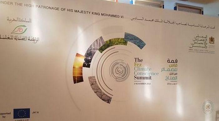 Le Sommet des consciences de Fès s'est tenu jeudi 3 novembre, en amont de la COP 22 à Marrakach, au Maroc. © Samia Hathroubi