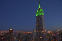 L'Empire State Building s'illumine pour l'Aïd