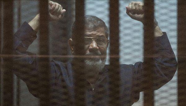 Mohamed Morsi en 2012.
