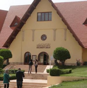 L'Université al Akhawayn, à Ifrane (Maroc).