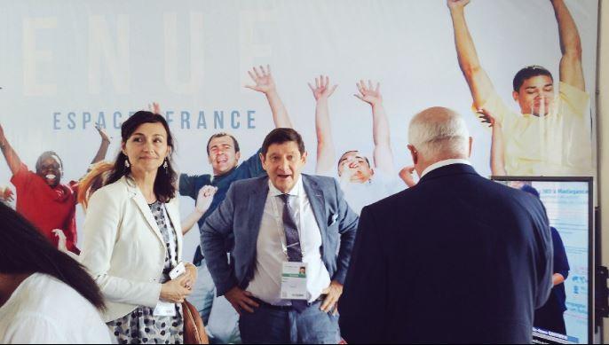 Patrick Kanner au 16e Sommet de la Francophonie organisé à Madagascar les 26 et 27 novembre. © Ministère de la Ville, de la Jeunesse et des Sports
