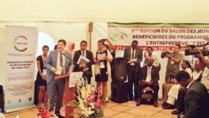 A la remise des prise de la Confejes. © Ministère de la Ville, de la Jeunesse et des Sports