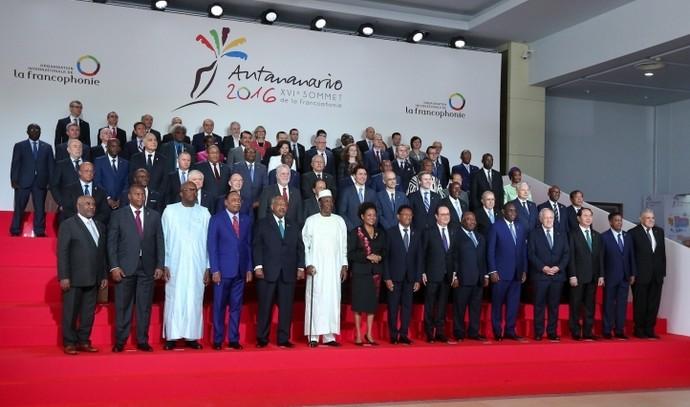Le 16e Sommet de la Francophonie a été organisé à Madagascar les 26 et 27 novembre, sous l'égide de l'Organisation internationale de la francophonie (OIF). © Présidence de la République