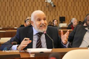 Seddig Nasser, délégué de la Société mondiale pour l'Appel islamique. © Saphirnews.com.