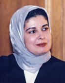 Asma Lamrabet, présidente du GIERFI