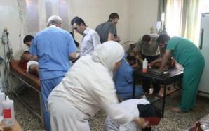 Les personnels de santé, « les héros du drame syrien »