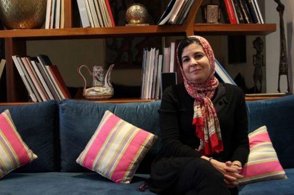 La féministe Asma Lamrabet est directrice du Centre d'études et de recherches sur la question des femmes dans l'islam (CERFI) à Rabat © Women SenseTour - in Muslim Countries