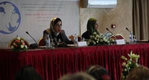 Asma Lamrabet – Colloque 12 et 13 novembre 2014 –  Femmes au coeur des monothéismes: une histoire plurielle. © Women SenseTour - in Muslim Countries
