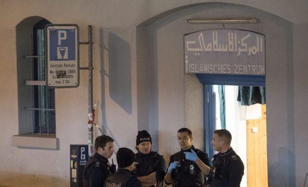 Une fusillade a éclaté lundi 19 décembre devant un centre islamique à Zurich. © DPA