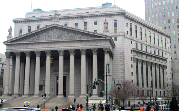 Tribunal de New York ©Wikipedia