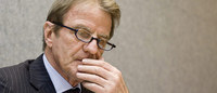 Le ministre des Affaires étrangères, Bernard Kouchner.