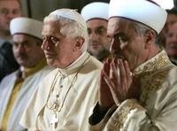Benoit XVI en Turquie en novembre 2006