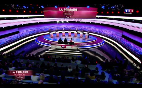 Primaire de la gauche : des désaccords révélés lors d'un débat sans envergure