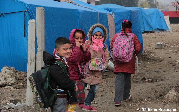 De la Syrie à la Turquie - Immersion dans un camp de réfugiés