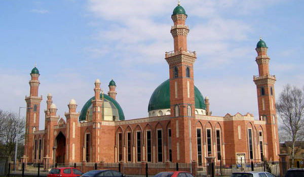 Mosquée Suffa-tul-Islam de Bradford.