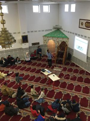 Dictée des mosquées à la mosquée de Sainte-Geneviève-des-Bois - © Prémices