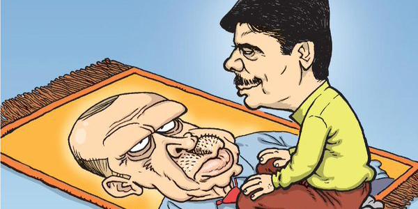 Une des couvertures du journal satirique Girgir.