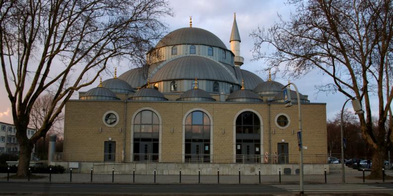 Mosquée de Duisbourg (Allemagne).
