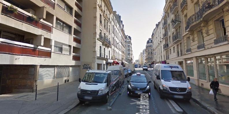 Rue de Montreuil dans le 11e arrondissement de Paris. © GoogleStreetView.