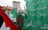 Manifestation de Palestiniens à Gaza
