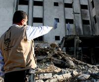 Adel Kadoum, chargé de mission du Secours Islamique France à Gaza