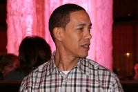 L'américain Michaël Lamar, sosie de Barack Obama.