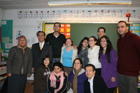 Avec les organisateurs français et japonais de la CMRP