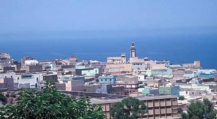 Vue de Mostaganem (Algérie), ville natale du cheikh al-Alawi.