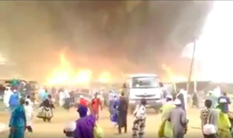 Sénégal: incendie dramatique lors d'un rassemblement spirituel