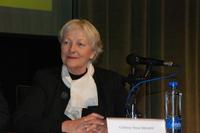 Colette-Nour Brahy, lors du colloque sur Eva de Vitray-Meyerovitch, le 16 décembre 2008, à Konya (Turquie).